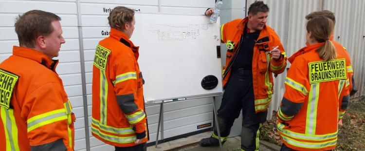 Gemeinsamer Ausbildungstag für die Atemschutzgeräteträger der Ortsfeuerwehren Bienrode und Querum