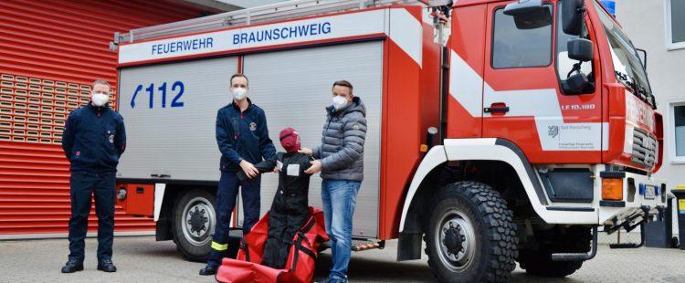Neue Rettungspuppe vom Förderverein der Ortsfeuerwehr Bienrode e.V.