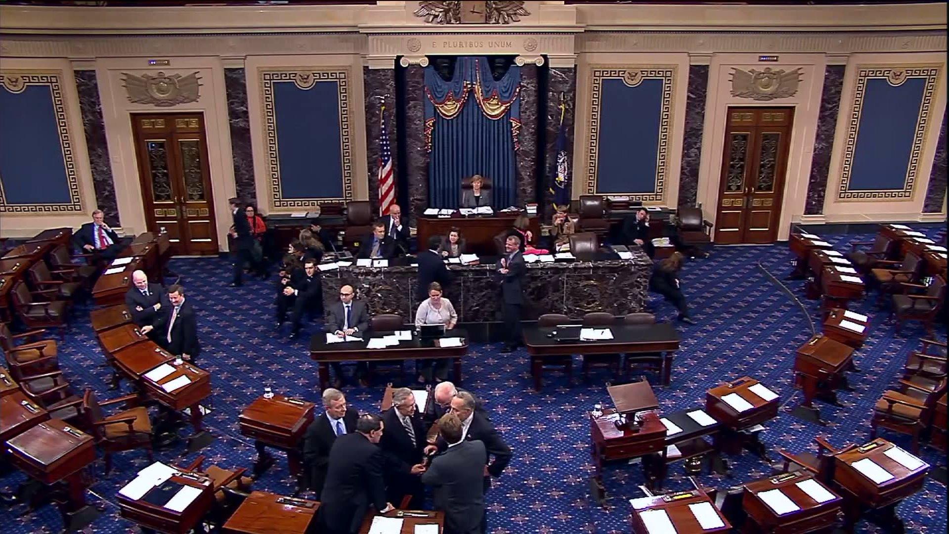 Image result for PHOTOS OF GOP US SENATORS ON SENATE FLOOR