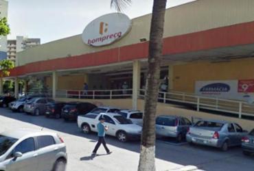 Supermercado é alvo de bandidos no Rio Vermelho