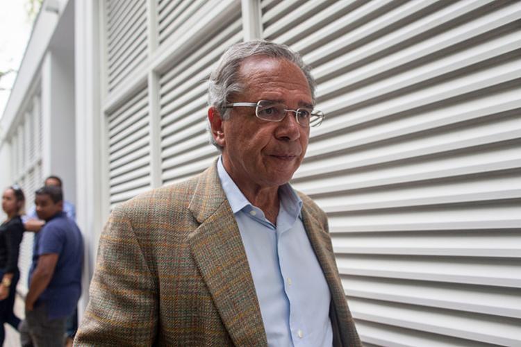 Guedes defende que o Estado intervenha o minimo possível na economia