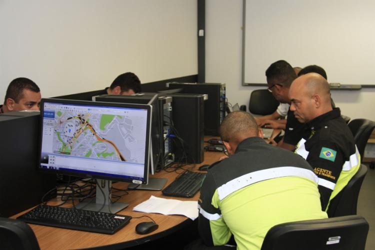 O software consegue simular qualquer ocorrência como acidentes, crimes, ataques, entre outros - Foto: Divulgação | SSP-BA