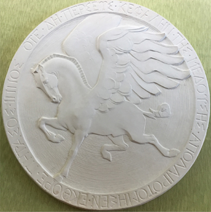 Pegasus Medallion, 1929