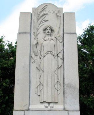 World War Memorial, Dedham, MA, 1932