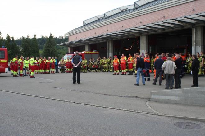 JFW Wasserschloss Hauptbung Der Feuerwehr Der Stadt