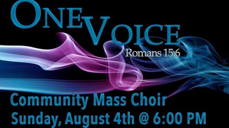 one voice community mass choir 2019-family worship center