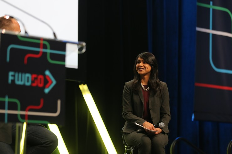 Alistair Croll in conversation with Minister Bardish Chagger