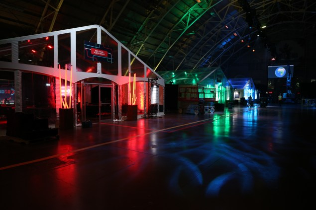 FWD50 stages before the opening of the conference