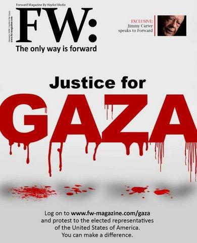 Forward Magazine January 2009 cover, Syria