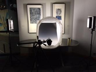 Capturing 3D works.