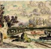 Pont des Saints-Père by Paul Signac
