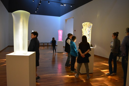 "A group of students, led by a FWMoA docent, explore Peter Bremers' 2017 exhibition ""Seven Bodies""."