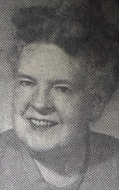 A portrait of Blanche Hutto.