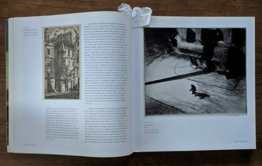 One of Lauren's favorites, an exhibition catalog featuring works by artist Edward Hopper.
