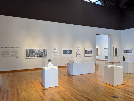 "An exhibition photo of ""Hope Dies Last: The New Armenia"" now on view at FWMoA."