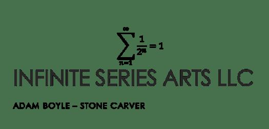 Logo for Infinite Series Arts, the artists studio.