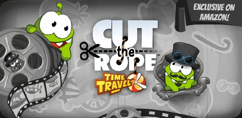 Cut the Rope time travel free app