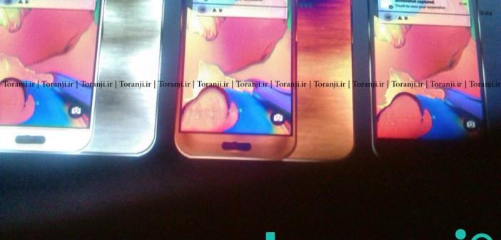 Galaxy S6 three colors