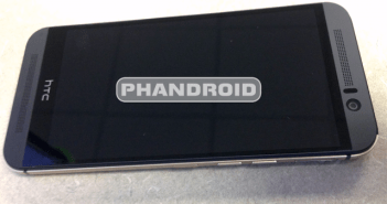 HTC One M9 front panel