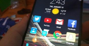 Google Now Launcher on LG G3