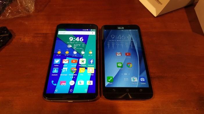 Asus ZenFone 2 and Nexus 6