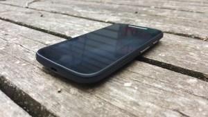 Moto E side image