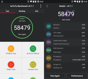 OnePlus 2 AnTuTu Benchmark