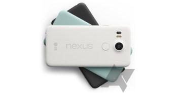 Nexus 5X colors