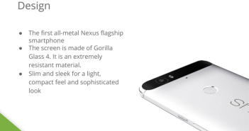 Nexus 6P Slide 7