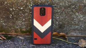 Carved Travel Wood Case back