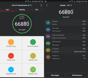 Galaxy Note 5 AnTuTu Benchmark