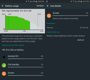 Galaxy Note 5 battery 1
