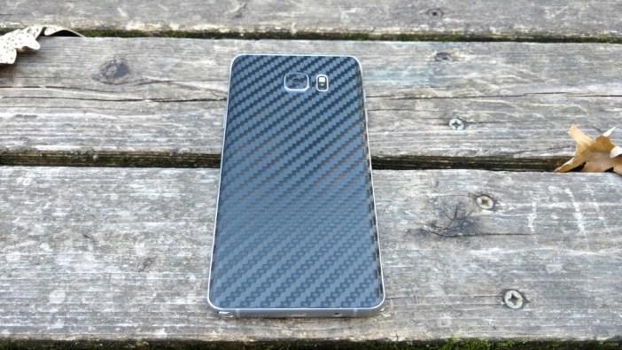 Galaxy Note 5 back