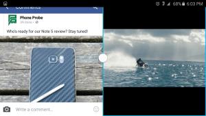 Samsung Galaxy Note 5 multi tasking