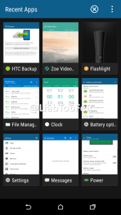 HTC One M9 Android Marshmallow Sense 7.0 screenshot 4