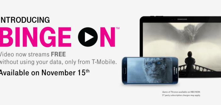 T-Mobile Binge On