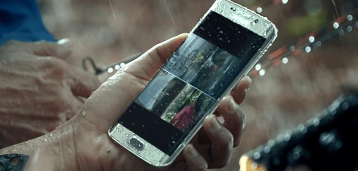 Galaxy S7 in the rain