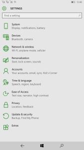 Lumia 950 XL white theme