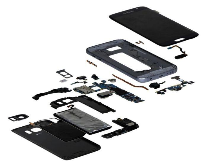 Galaxy S7 torn down
