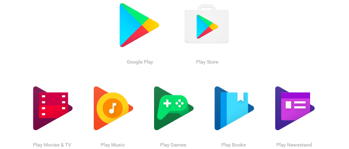 Google Play Store icon changes