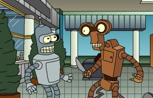 LG G5 looks like Bender and Roberto