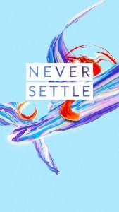 OnePlus 5 wallpaper Never Settle 5