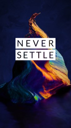 OnePlus 5 wallpaper Never Settle 3