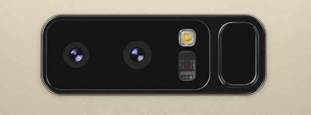 Galaxy Note 8 camera