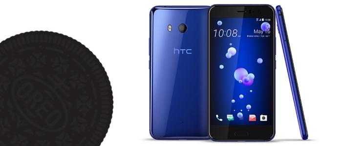HTC U11 Android Oreo