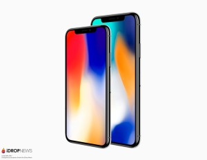 iPhone X and iPhone X Plus front side to side