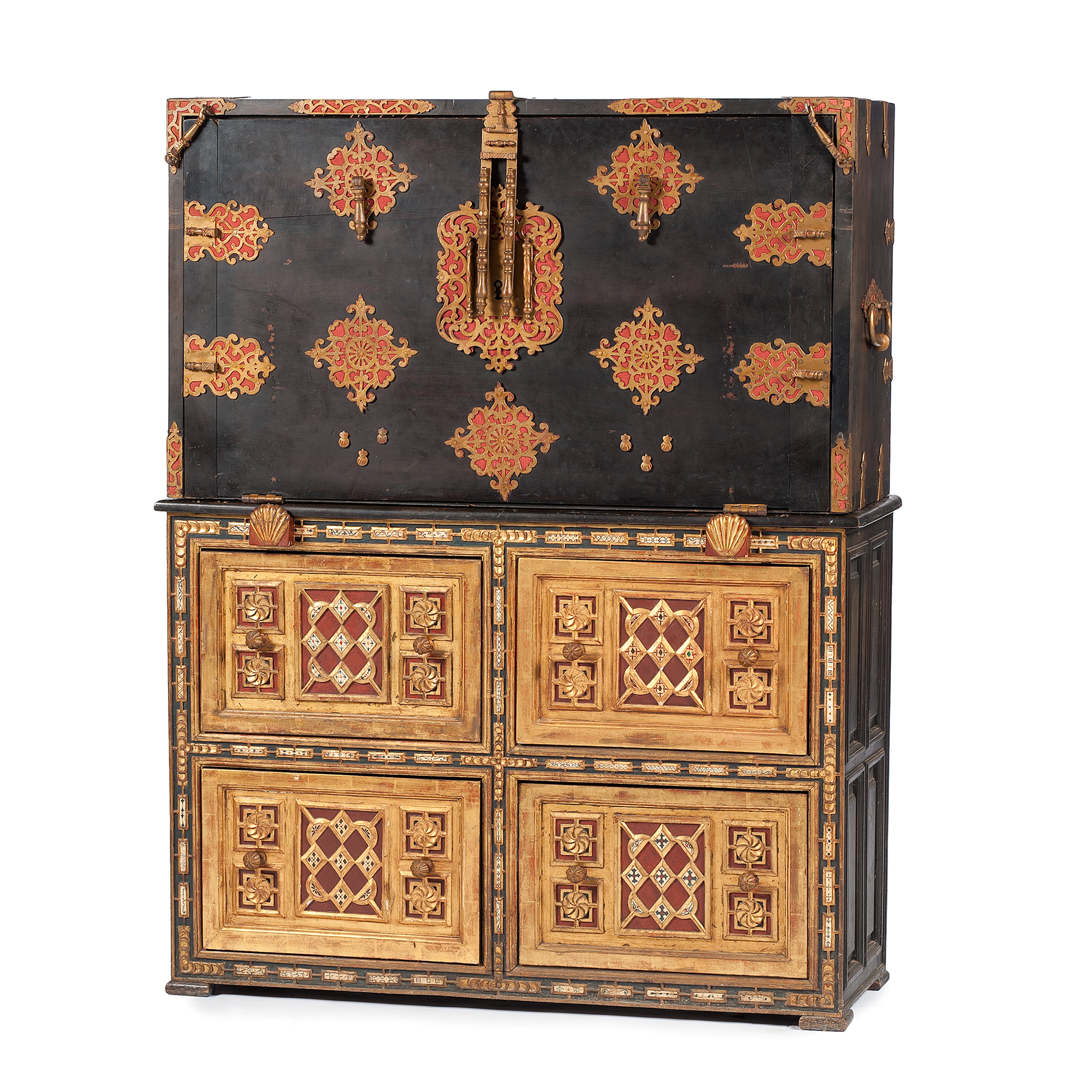 Spanish Vargueno Chest On Chest Cowan S Auction House