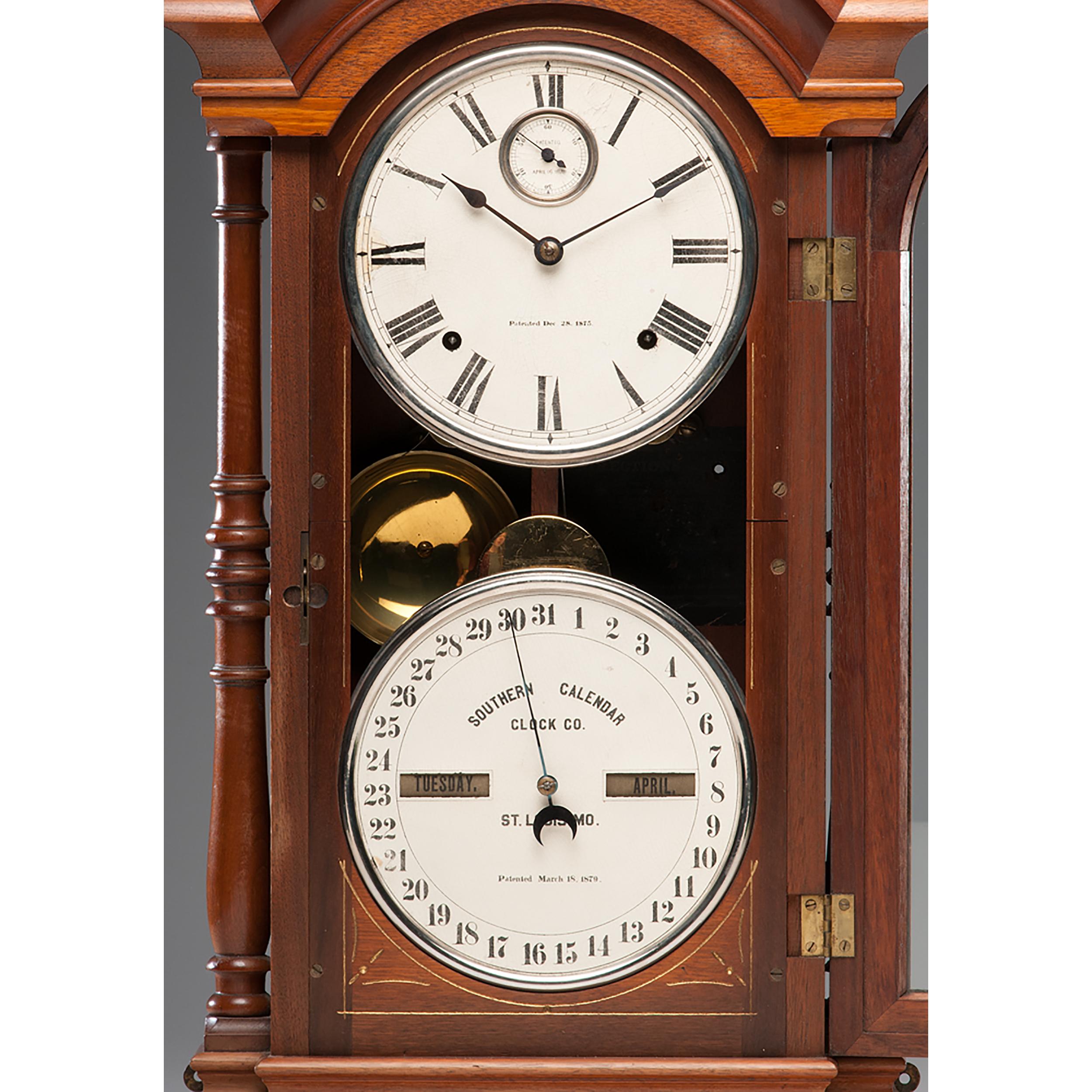Southern Calendar Clock Co Fashion Clock