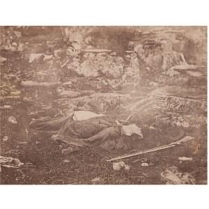Alexander Gardner, Two Photographs of Dead Rebel ...