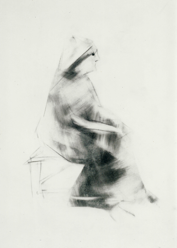 Old Woman, Seated